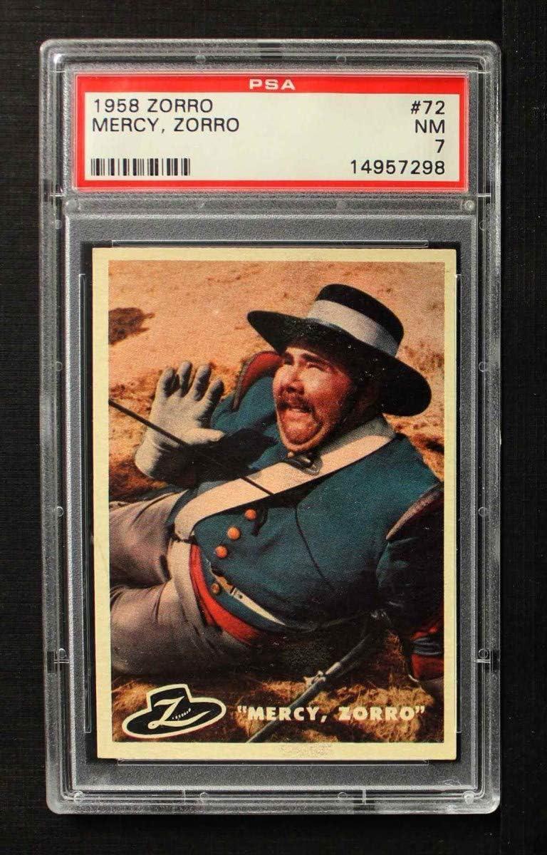 1958 Topps # Max 53% 5% OFF OFF 72 Mercy Card 7.00 PSA Zorro