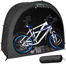 90 190Cm Bike Shed Outdoor,Storage Tent Garden Bicycle Cover,Window Design Camping Accessories Waterproof Pop Up Tents for Two Adult Bicycles,200