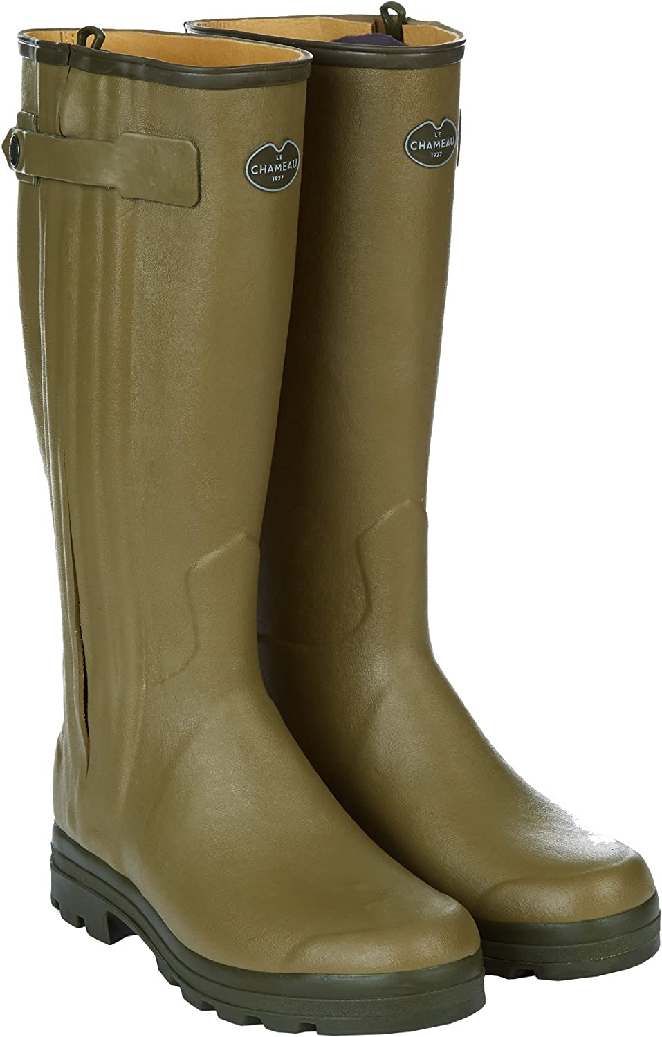 LE CHAMEAU 1927 Men's Chasseur Leather Lined Boot Cuir W