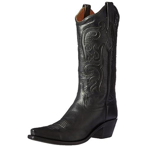 efb9ad748de Women's Black Cowboy Boots: Amazon.com