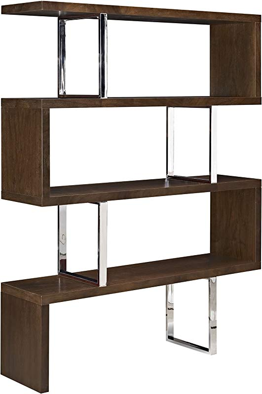 Modway Meander Contemporary Modern Offset Stand In Walnut