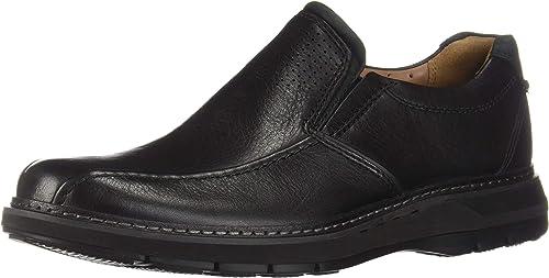 CLARKS Hommes's Un Ramble Step noir Leather 9 EE US US EE - Wide  en ligne pas cher