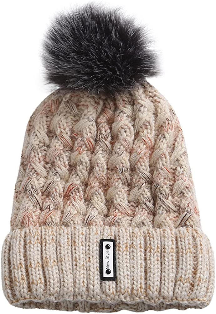 TWGONE Knit Free shipping Caps For Women Wool Hat Winter Warm New popularity Cosy Beanie Ski