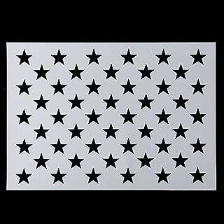 star template for pallet flag
