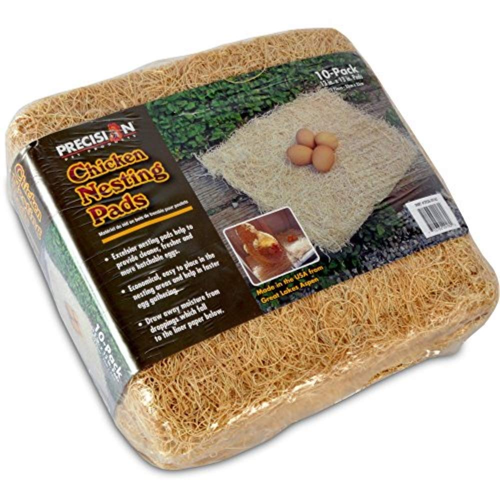 Precision Pet by Petmate Excelsior Nesting Pads Chicken Bedding