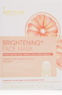 Karuna Brightening+ Face Mask Box, 4 CT