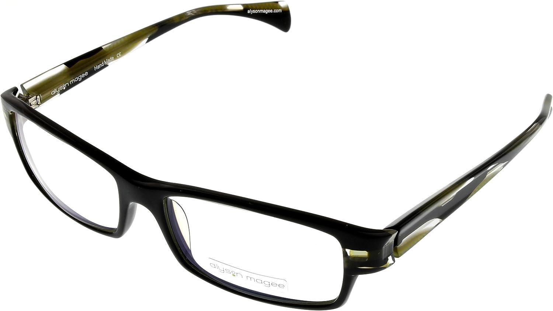 Alyson Magee Eyeglasses Unisex AM81319 Black