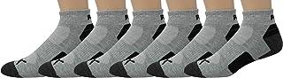 PUMA Men's 6 Pack Quarter Crew Socks
