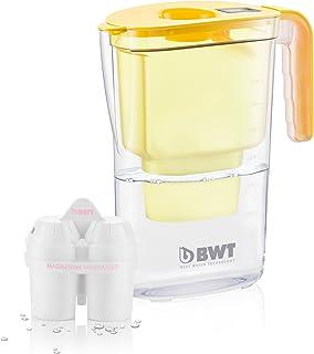 BWT 815130Carafe à 1Filtre, Plastique Moderne 26.4x11.5x28.7 cm Jaune