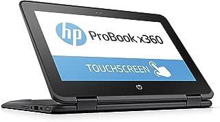 HP 惠普 ProBook x360 11-G1 EE 11.6 英寸二合一可转换高清触摸屏笔记本电脑带活动钢笔、Intel N3450 四核、64GB eMMC、4GB DDR3、802.11ac、蓝牙、Win10S