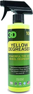 3D Yellow Degreaser - Wheel & Tire Degreaser & Cleaner to Remove Grease & Brake Dust 16oz.