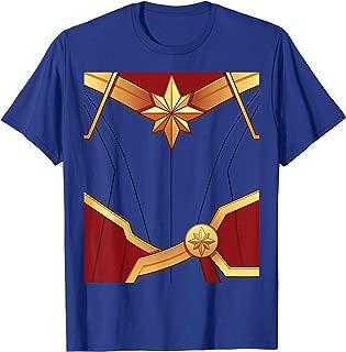 Captain Marvel Carol Danvers Costume T-Shirt