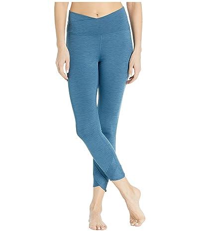 Nike Yoga Wrap 7/8 Tights (Valerian Blue/Heather/Thunderstorm) Women