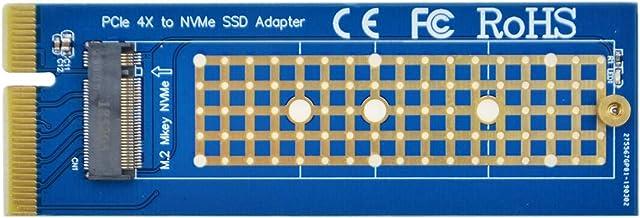 ADWITS PCI Express 3.0 x4 a NVMe basado en PCIe y Tarjeta de Adaptador de AHCI M.2 SSD, Compatible con PCIe x8 x16 Ranura de Tamaño de M.2 2230/2242/2260/2280