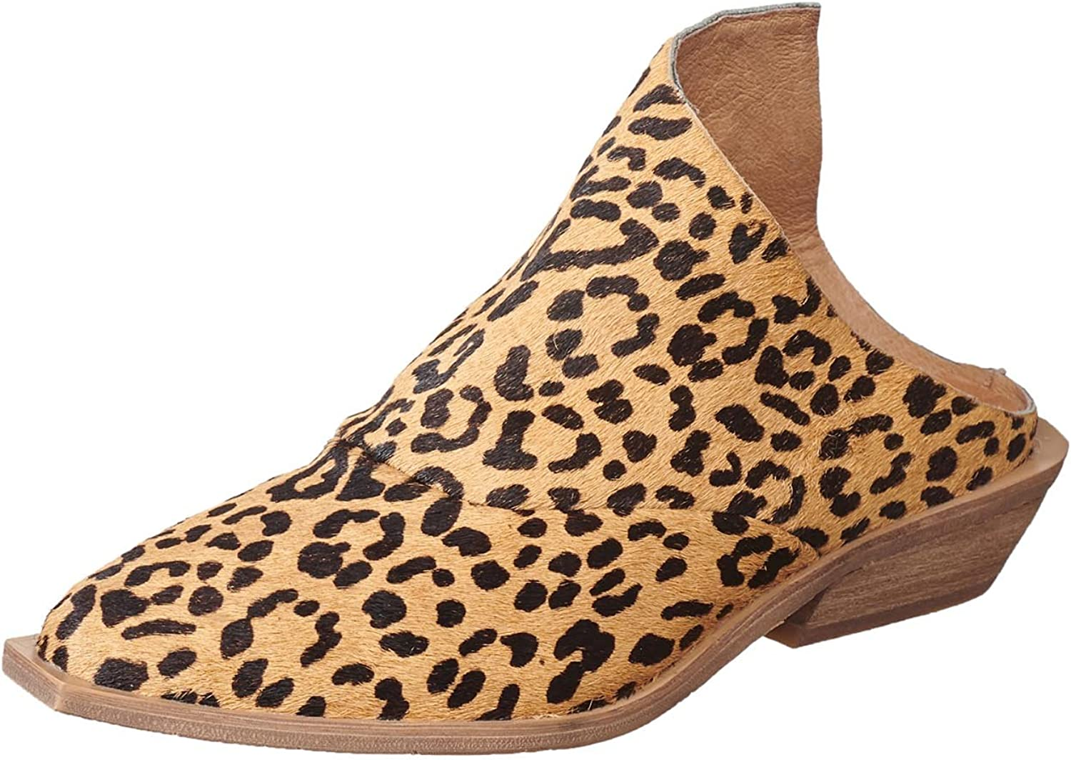 Antelope Women's 369 Calf Hair Leather Spotted Mule