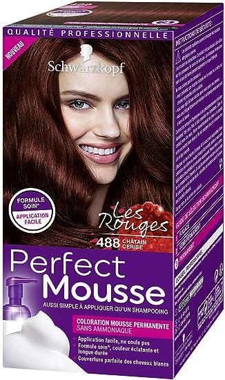 Schwarzkopf Perfect Mousse – Coloración de espuma permanente ...