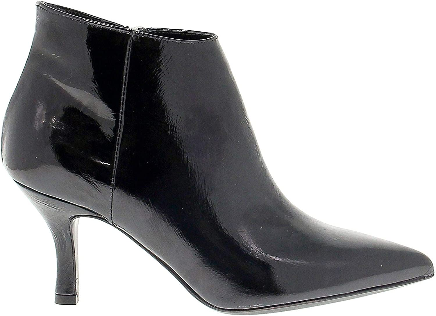 JANET&JANET Women's 42500N Black Patent Leather Ankle Boots
