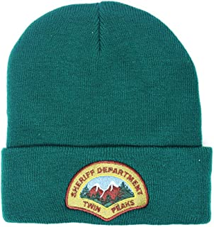 Twin Peaks Sheriff's Department Beanie Green