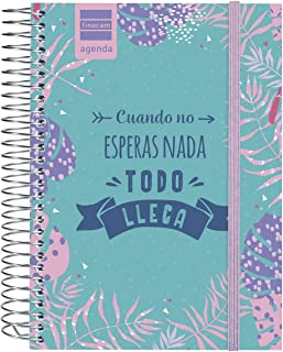 Finocam - Agenda 2019-2020 1 día página español Prints Floral