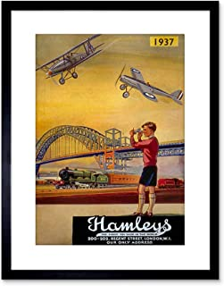 The Art Stop AD HAMLEYS Toy Shop Regent London UK Framed Print F97X3082
