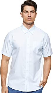 Giordano Men's 01048209 Wrinkle Free Short Sleeve Shirt