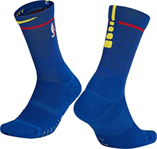 NBA Golden State Warriors Stephen Curry Kevin Durant Thompson Green 2017 2018 City Edition Official, Calcetines de Hombre