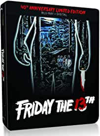 FRIDAY THE 13TH 40th Anniversary Blu-ray Steelbook arrives on May 5th from Paramount