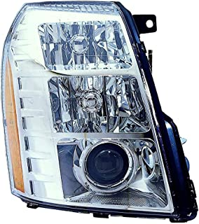 Fits Cadillac Escalade 2007-2009 Headlight Assembly W/HID Type(09 1ST DESIGN) RH GM2503291