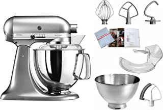KitchenAid 凯膳怡 5KSM175PSENK,ARTISAN 厨师机,配备专业装备,亚光拉丝金属