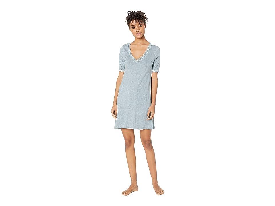 Natori Feathers Sleepshirt (Heather Basil) Women