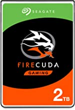 Seagate (ST2000LX001) FireCuda 2TB Solid State Hybrid Drive Performance SSHD – 2.5 Inch SATA 6Gb/s Flash Accelerated for G...