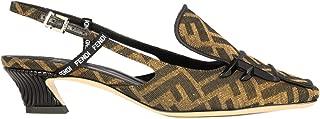 FENDI Luxury Fashion Womens 8J6944A84HF16Z7 Brown Pumps | Fall Winter 19