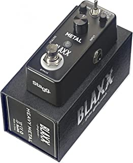 Stagg BX-METAL BLAXX Series Three Mode Heavy Metal Distortion Pedal for Guitar