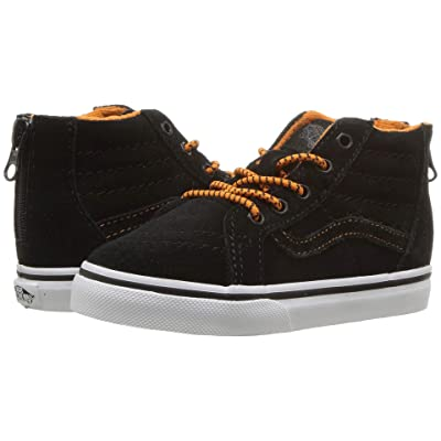 Vans Kids Sk8-Hi Zip (Infant/Toddler) ((MTE) Orange/Black) Boys Shoes