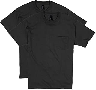 Hanes Men's 2 Pack Short-Sleeve Pocket Beefy-T