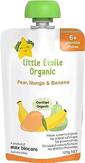 Little Etoile Organic - Pear ,Mango & Banana, 120 grams