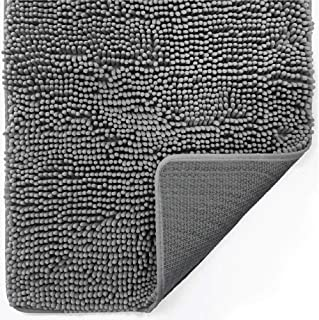 Gorilla Grip Original Indoor Durable Chenille Doormat, Large, 36×24, Absorbent,..