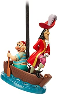 Disney Captain Hook and Mr. SMEE Sketchbook Ornament - Peter Pan