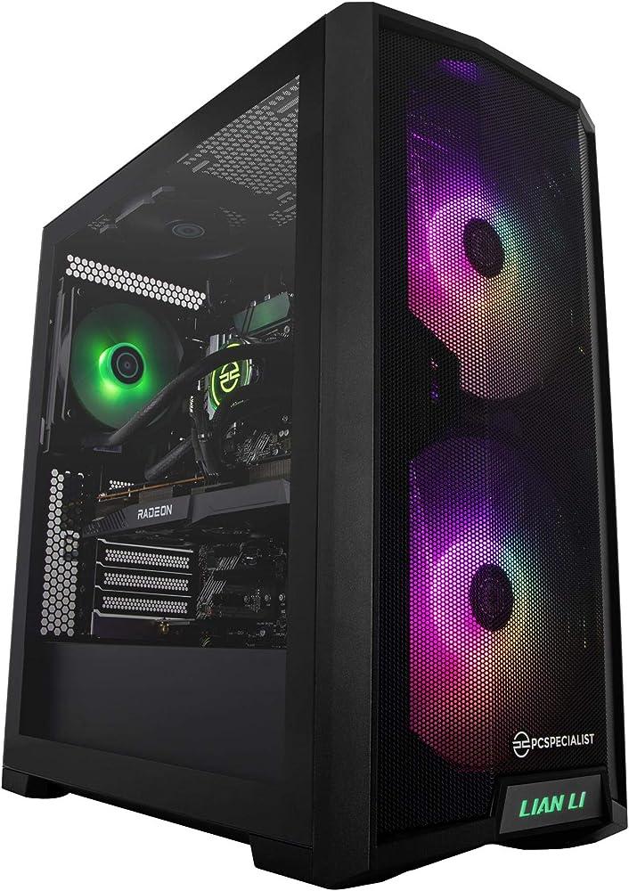 Pcspecialist pro pc gaming fisso intel® core™ i7 8-core 16 gb ram amd radeon™ rx 6700 xt 12 gb 1 tb m.2 ssd PRO_I7_10K_6700XT