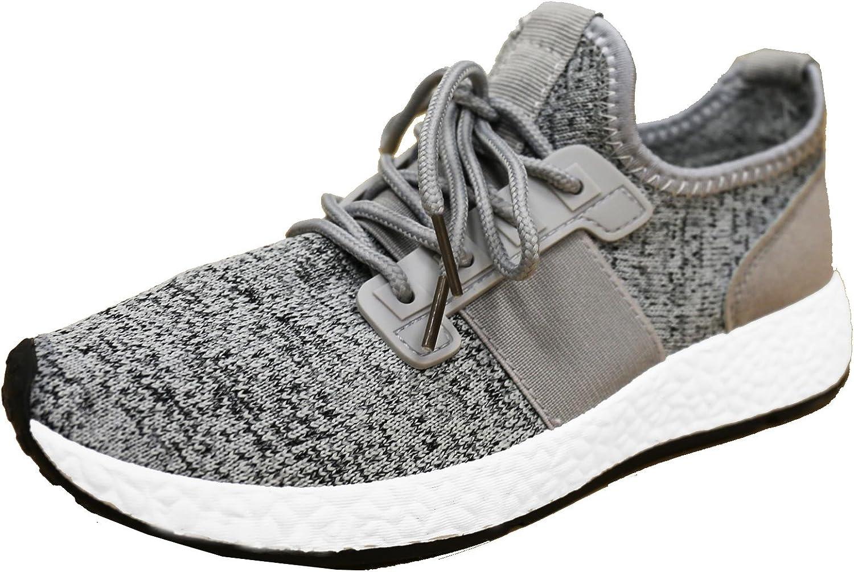 S-3 Women's Two Tone Mesh Fabric Athletic Fashion Sneaker