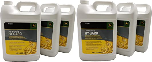 John Deere Original Equipment 6 Gallons Hy-Gard Trans & Hydraulic Oil - TY22000