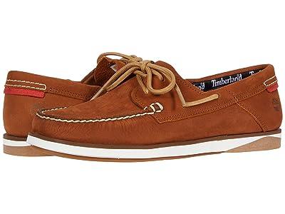 Timberland Atlantis Break Boat Shoe (Saddle Demar) Men