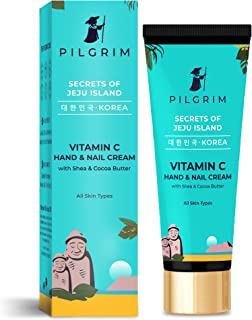Pilgrim Vitamin C Hand and Nail Cream with SPF 30,Shea Butter, Cocoa Butter | Discover Flawless Hands | Cuticle Care | Dee...