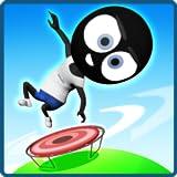 Stick Man Trampoline Jump: Flipping Master