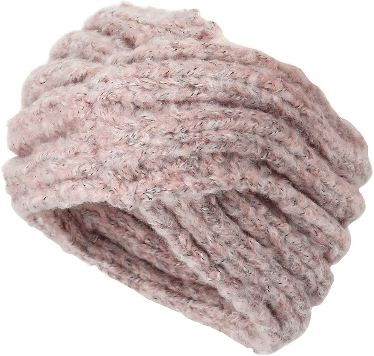 Ayliss Women Cold Weather Headbands Knit Cross Hairband Winter Ear Warmer Hair Wraps