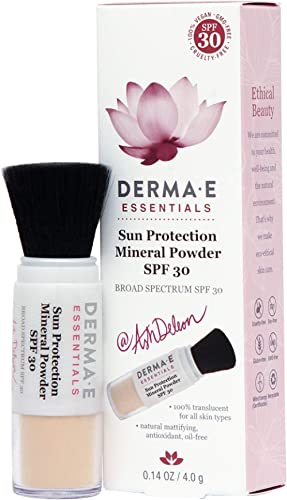 DERMA-E SPF30 Sun Protection Mineral Powder, 0.14 ounce (1485)