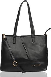 Giordano Womens's Tote Handbag (Black/Grey)