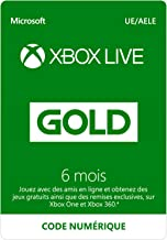 Abonnement Xbox Live Gold 6 mois   Xbox Live - Code jeu à télécharger