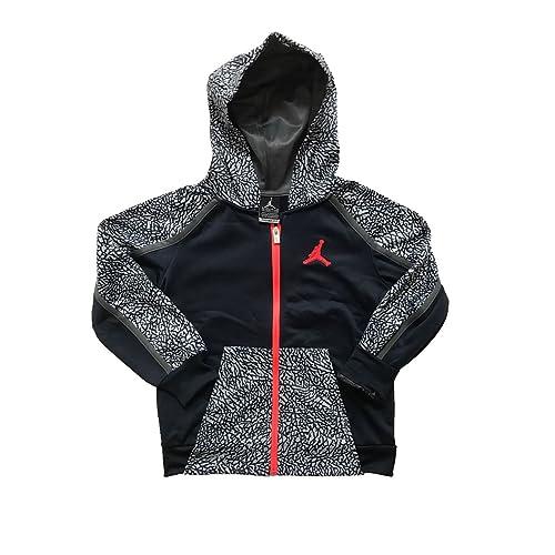 d9a542bfe0f7d8 Nike Boy s Jordan Full Zip Hoodie