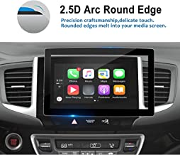 LFOTPP 2016-2018 Pilot Ridgeline 8 Inch Car Navigation Screen Protector, Tempered Glass Infotainment in-Dash Display Touch Scratch-Resistant,Compatible with LX EX EX-L Touring Elite
